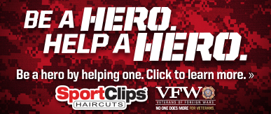 Sport Clips Haircuts of Austin - Westlake​ Help a Hero Campaign